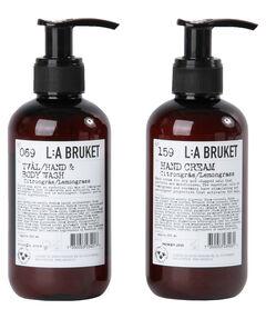 """entspr. 13,75 Euro / 100 ml - Inhalt: 2 x 200 ml Handcreme und Handseife """"Lemongrass"""""""