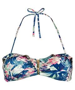 "Damen Bikinioberteil ""Floral Camo Bandeau Ruffle"""