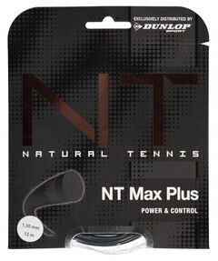 "Tennissaiten ""NT Max Plus"" 1,30 mm 12 m Set"