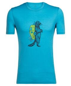 """Herren Shirt """"Tech Lite SS Crewe Waschbar Wandering"""" Kurzarm"""