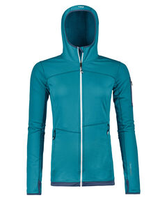 "Damen Fleecejacke mit Kapuze ""Fleece Light Hoody W"""