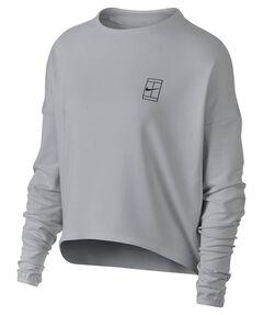 """Damen Tennissweatshirt """"Women's NikeCourt Dry Tennis Top"""" Langarm"""