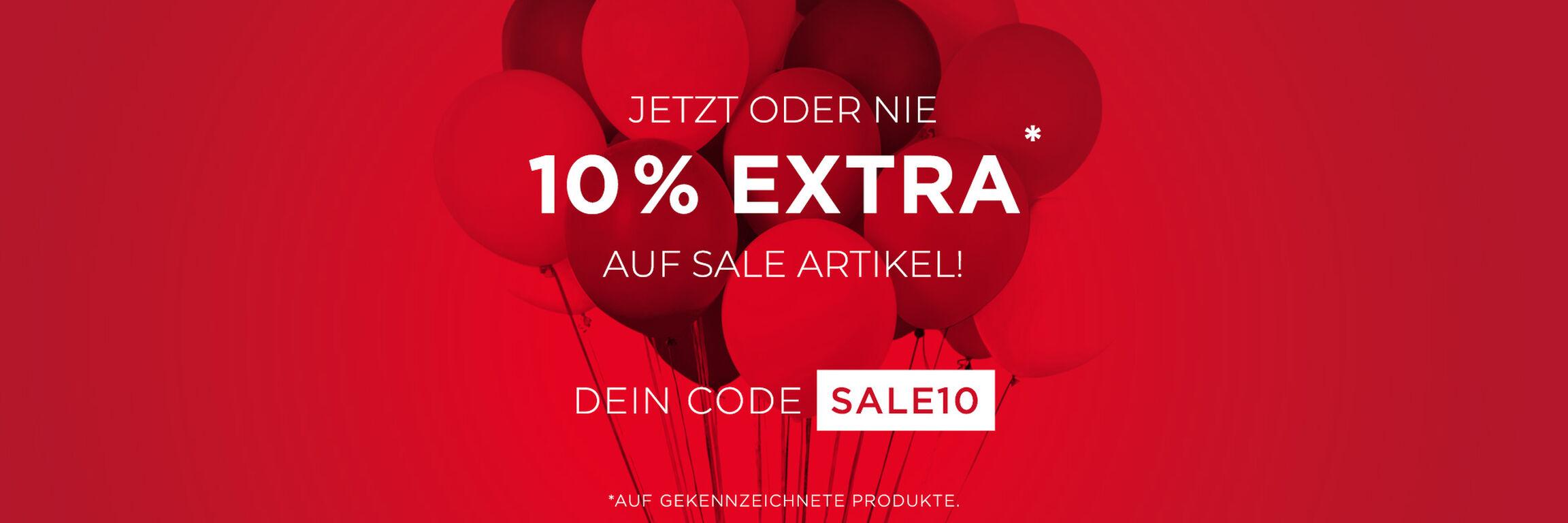 10 % Extra mit dem Code SALE10