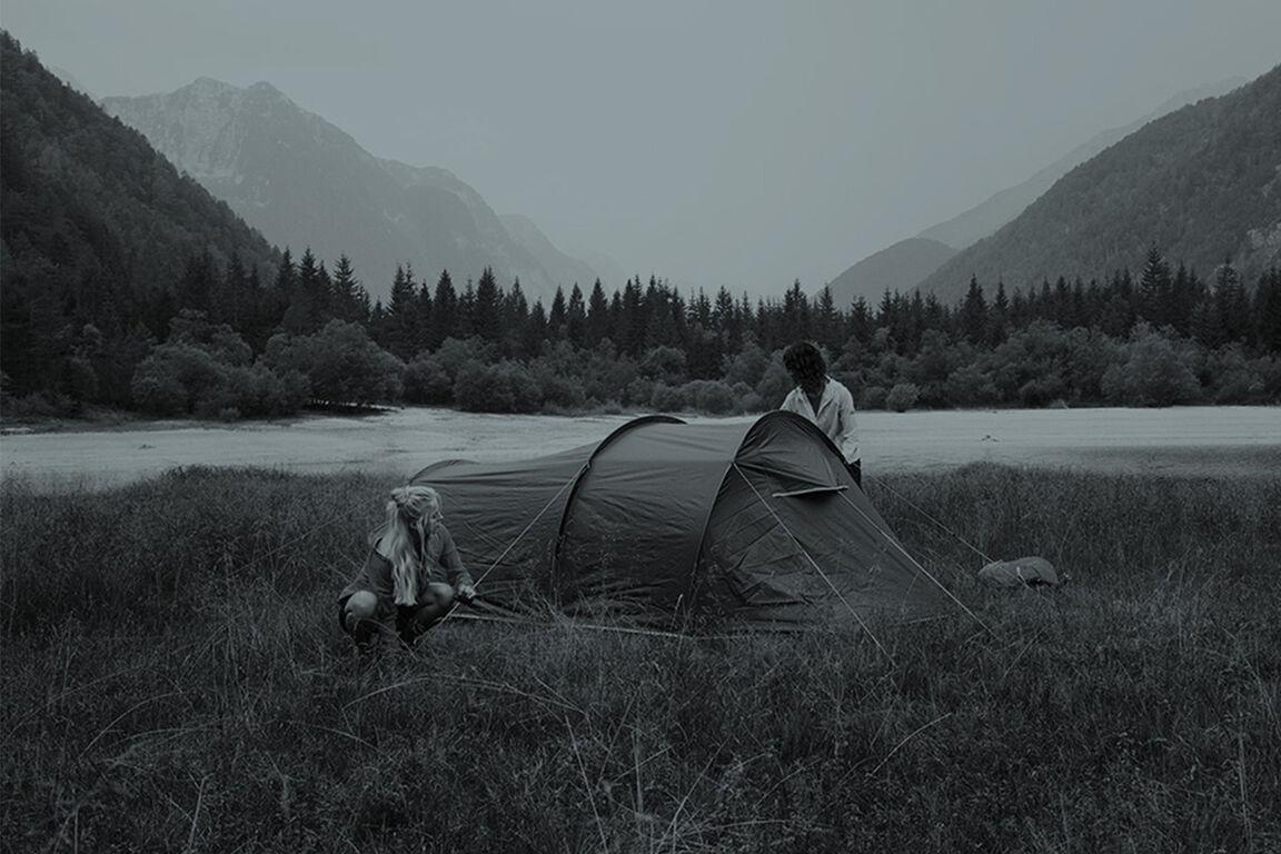 Campen im Sommer