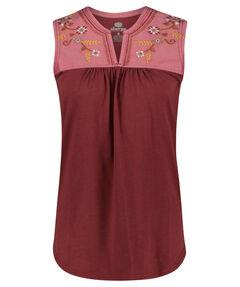 """Damen Shirt """"Shaantie Embroidery"""" Ärmellos"""