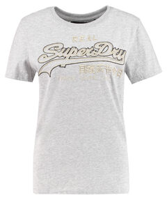 "Damen T-Shirt ""Logo Emb Outline Entry Tee"""