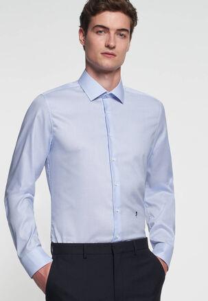 Seidensticker - Herren Hemd Slim Fit Langarm