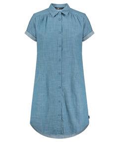 "Damen Wander-Blusenkleid ""Sky Valley Dress"" Kurzarm"