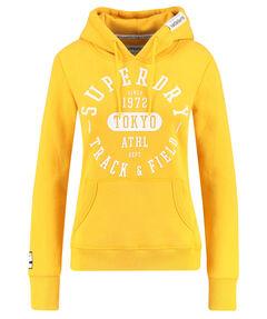 "Damen Kapuzensweatshirt ""Track & Field"""