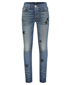 "Herren Jeans ""Leather Stars Stack"" Skinny Fit"