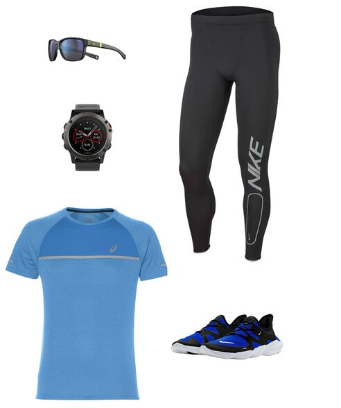 Outfit - Blue Flash