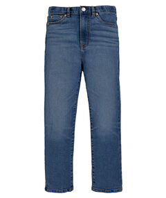 "Mädchen Jeans ""Ribcage Ankle Denim Pant"" Straight Fit verkürzt"