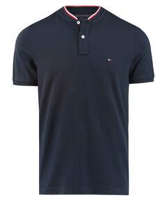 "Herren Poloshirt ""Baseball Collar Slim"" Kurzarm"