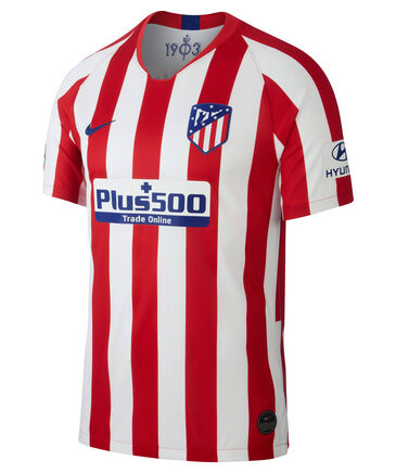 "Nike - Herren Fußballtrikot ""Atlético de Madrid 2019/20 Stadium Home"" Kurzarm - Replica"