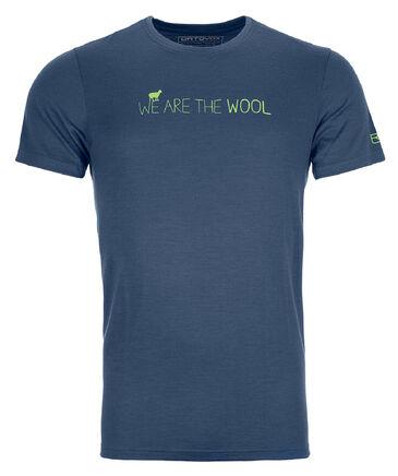 """Ortovox - Herren T-Shirt """"185 Merino Wool T-Shirt"""" Kurzarm"""
