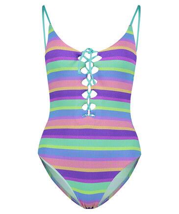 "Seafolly - Damen Badeanzug ""Baja Stripe V-Neck Maillot"""