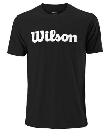 """Wilson - Herren Tennisshirt """"Team Scripttech Tee"""" Kurzarm"""