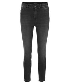 Damen Jeans Skinny Cropped Fit High Rise