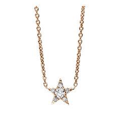 Damen Collier mit Diamanten