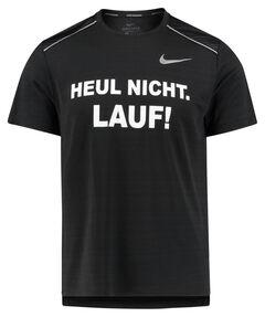 """Herren Laufshirt """"Heul nicht, lauf"""" Kurzarm"""