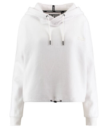 "Superdry - Damen Sweatshirt ""Ol Elite Crop Hoodie"""