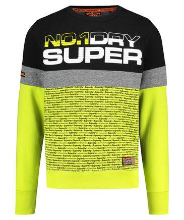 """Superdry - Herren Sweatshirt """"Trophy Neon Crew"""""""