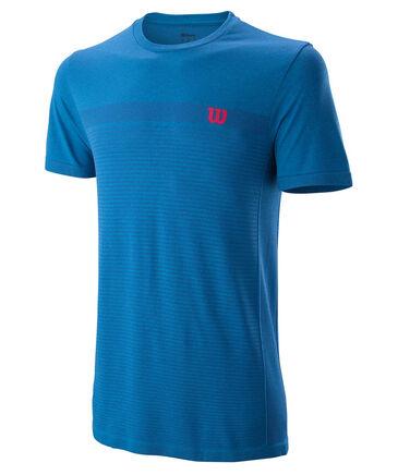 Wilson - Herren Tennisshirt Kurzarm