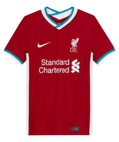"Kinder Liverpool FC Fußballtrikot ""2020/21 Stadium Home"" Kurzarm"