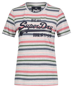 """Damen T-Shirt """"Vintage Logo Stripe Entry"""""""
