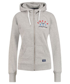 "Damen Sweatjacke ""Applique Zip Hood"""