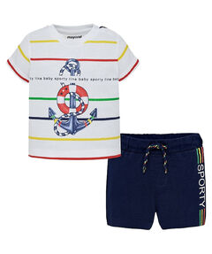 Jungen Baby Set Shorts T-Shirt