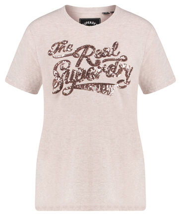 """Superdry - Damen T-Shirt """"The Real Sequin Entry Tee"""""""