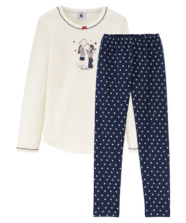 Petit Bateau - Mädchen Schlafanzug Langarm