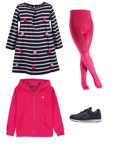 Outfit - Pink Marine