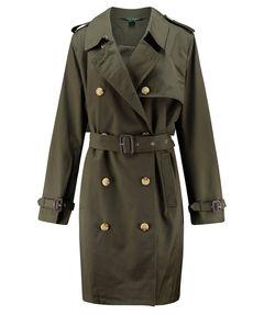 Damen Trenchcoat - Plus Size