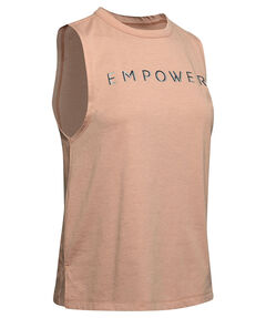 "Damen Tanktop ""Graphic EMPower Muscle Tank-Gry"""