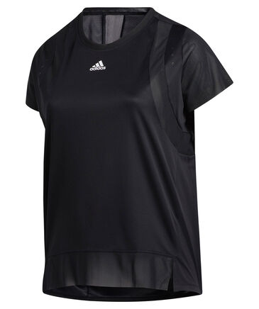 "adidas Performance - Damen Fitness T-Shirt ""Heat.Rdy"" - Plus Size"