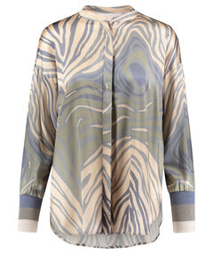 "Damen Bluse ""Zebra"" Loos Fit Langarm"