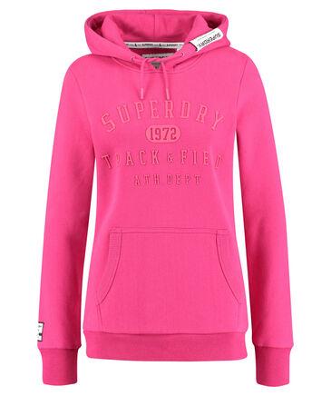 "Superdry - Damen Kapuzensweatshirt ""Track & Field"""