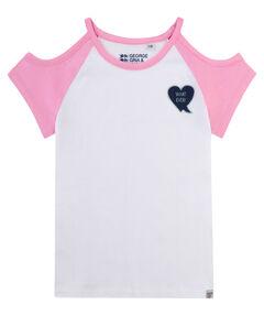 Mädchen Shirt Kurzarm