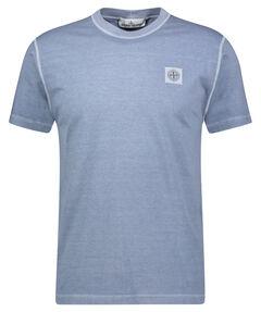 "Herren T-Shirt ""Melange Tonal Logo Patch Tee"""