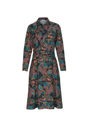 Seidensticker - Damen Blusenkleid Regular Fit Langarm