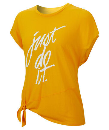 "Nike - Damen Trainingsshirt ""Side-Tie"""