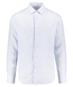 Herren Leinenhemd Langarm