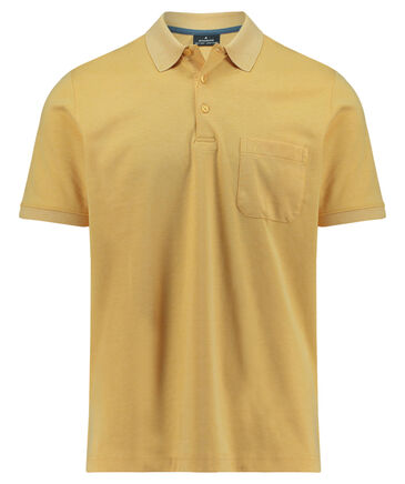 Ragman - Herren Poloshirt Kurzarm