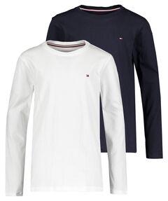 Jungen Shirt Langarm 2er-Pack