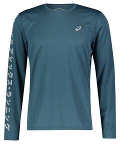 """Herren Laufsport Shirt """"Katakana"""" Langarm"""