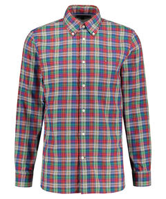 "Herren Freizeithemd ""Melange Multi Check Shirt"" Regular Fit  Langarm"