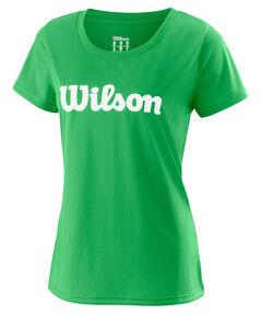 """Damen Tennisshirt """"UWII Script Tech Tee"""" Kurzarm"""