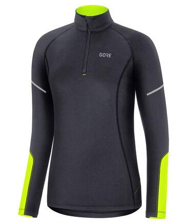 """GORE® Wear - Damen Laufshirt """"Mid Longsleeve Zip Shirt"""" Langarm"""